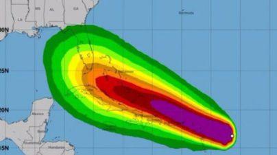 Irma, el mayor huracán jamás registrado en el Atlántico, golpea el Caribe
