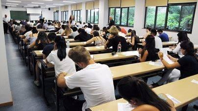 700 alumnos de Balears se examinan hasta el viernes para acceder a la UIB