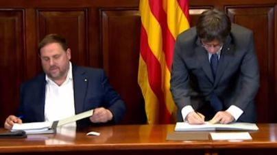 La Fiscalía anuncia una querella criminal contra todos los miembros del gobierno de la Generalitat