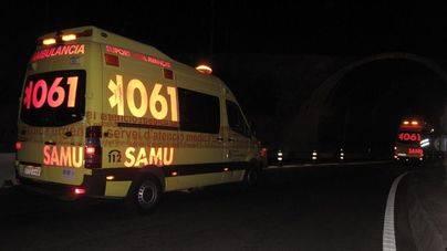 Muere un motorista en un choque frontal en la carretera de Sant Josep