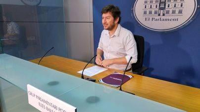 Podem presenta enmiendas a la reprobación a Barceló planteada por el PP y le pide responsabilidades por el caso ORA