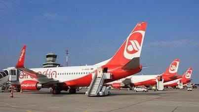 Air Berlin cancela 70 vuelos este martes por