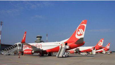 Air Berlin cancela 32 vuelos en la segunda jornada de huelga encubierta de pilotos
