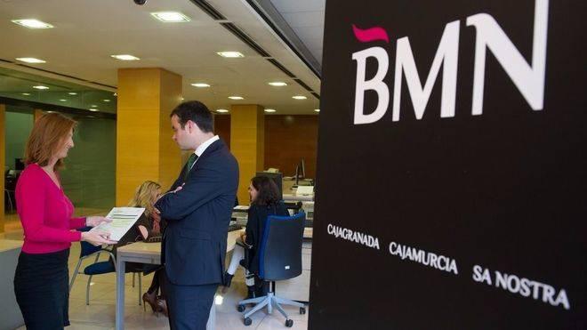 La integración de BMN en Bankia se iniciará en diciembre