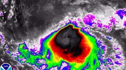 El huracán 'José' se fortalece aunque tiende a tormenta tropical