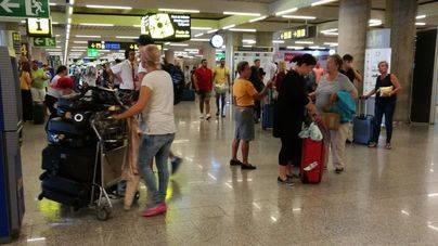 1,3 millones de pasajeros aterrizarán en Balears la semana próxima