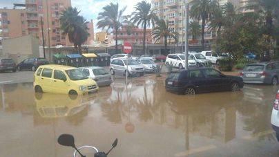 Colapso general en Palma por la primera gran tormenta de septiembre registrada este viernes
