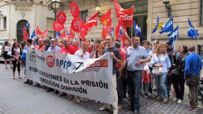 Los sindicatos de la cárcel de Palma denuncian el aumento de agresiones al personal