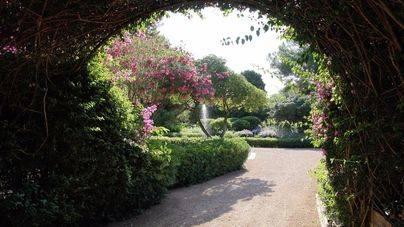 Los jardines de Marivent se abren de nuevo al público este sábado
