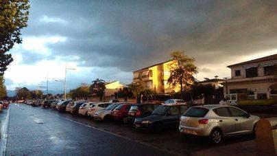 Las lluvias remiten a partir del mediodía en Mallorca