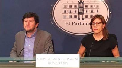 Podem lleva al Parlament la independencia del Poder Judicial por su actuación en Cataluña