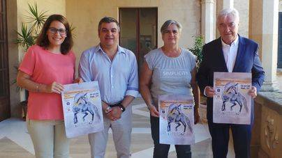 Un campeonato reúne los mejores caballos de Pura Raza Española en Andratx