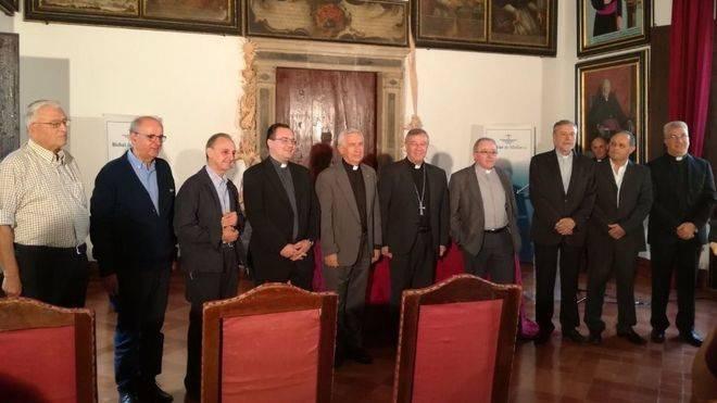 Comparecencia ante los medios del nuevo obispo de la diócesis mallorquina