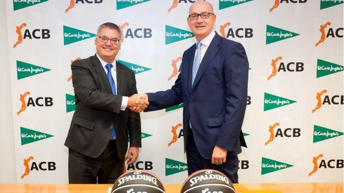 El Corte Inglés se convierte en Patrocinador Oficial de las competiciones ACB