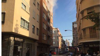 Revuelo vecinal por un incendio en la calle Jaume Ferran de Palma
