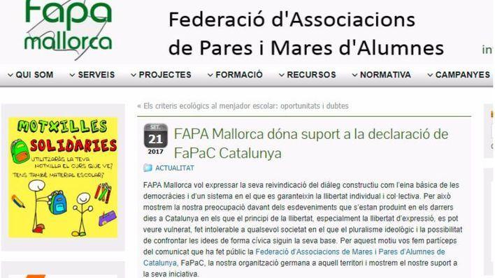 "Foro de la Familia critica que la FAPA actúe ""con fines partidistas"" pro referéndum"