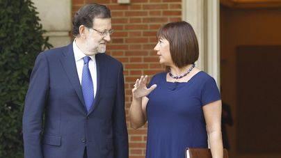 Pilar Costa anuncia que Armengol ha pedido reunirse con Rajoy en Palma y que Moncloa no contesta