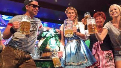 Éxito de público en la apertura de la Oktoberfest de MegaPark