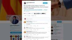 Puigdemont difunde un nuevo enlace para acceder a puntos de votación