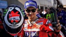Lorenzo, tercero en el triplete español del Gran Premio de Aragón