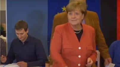 Merkel gana por cuarta vez las elecciones federales en Alemania