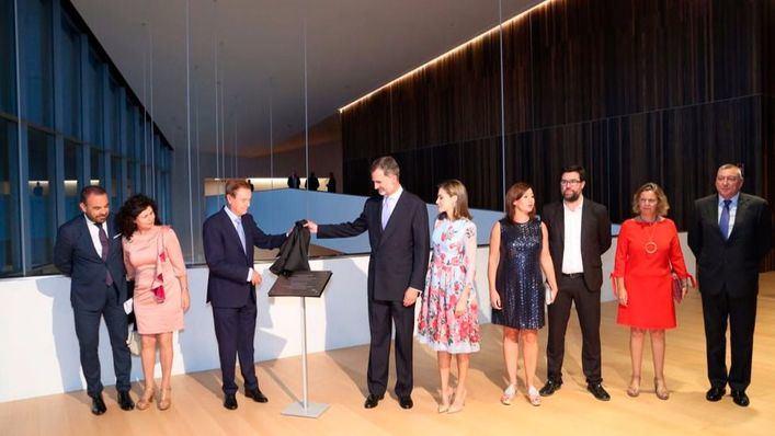 El Rey destaca la importancia de la industria turística en la gala inaugural del Palau de Congressos