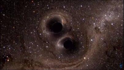 La UIB, en la primera observación conjunta de fusión de agujeros negros