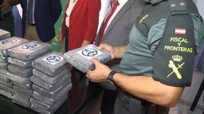 Incautada una partida de 700 kilos de cocaína en el puerto de Valencia