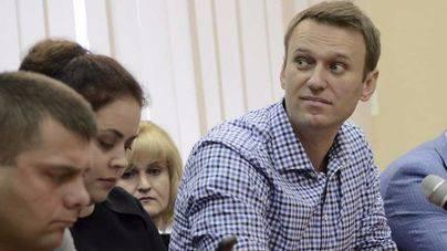 Detienen en Moscú al líder opositor Alexéi Navalni