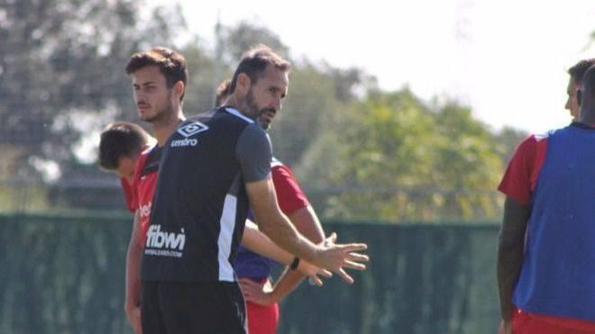 Vicente Moreno: 'Necesitamos mucha energía y mucho trabajo'