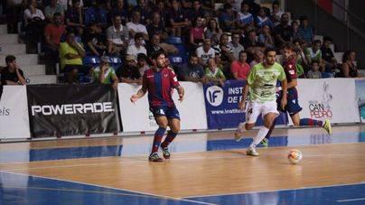 El Palma Futsal vence por 4-3 al Levante