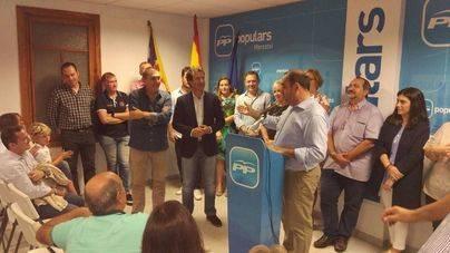 Xisco Ferrà, proclamado nuevo presidente del PP de Marratxí