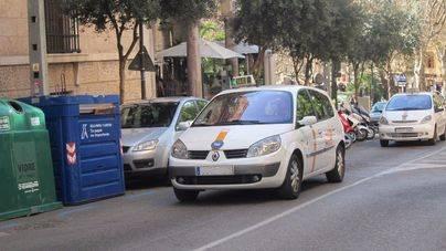 La flota de taxis adaptados en Palma crece el 55 por ciento en dos años