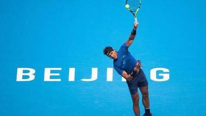 Nadal, a semifinales del torneo de Pekín tras exhibirse ante Isner