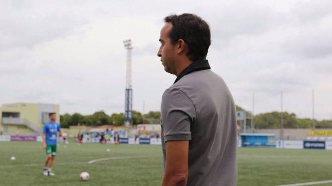 De la Morena: 'Vamos con todo a Sabadell para volver contentos'