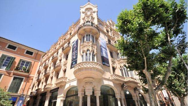 Imagen del Gran Hotel en Palma