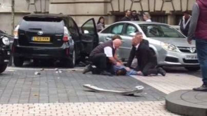 Varios heridos en un atropello masivo en Londres