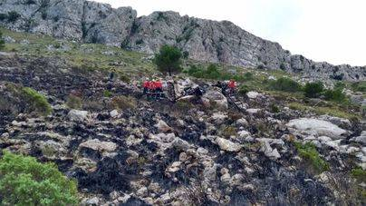 Una persona muerta al estrellarse su ultraligero en el Puig de Massanella