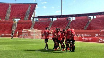 El Mallorca golea 3-0 al Cornellà en Son Moix y sigue invicto