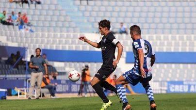 El Atlético Baleares se estanca y cae por 1-0 ante el Sabadell