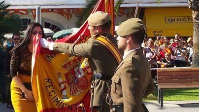 415 personas participan en la Jura de Bandera civil en Santa Eulària