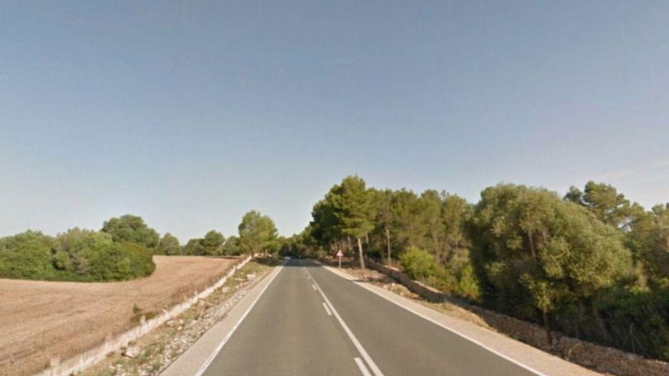 Un motorista muere al chocar con un turismo en la carretera de Ca'n Picafort a Son Serra de Marina