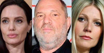 Angelina Jolie y Gwyneth Paltrow, dos de las acosadas por el productor Harvey Weinstein