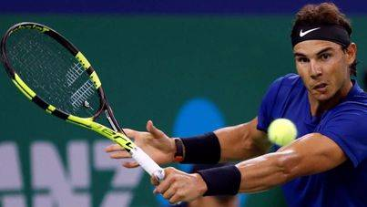 Nadal, en semifinales de Shanghai tras vencer a Dimitrov