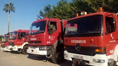 30 desalojados y tres heridos de un hotel de Santa Ponça por un incendio