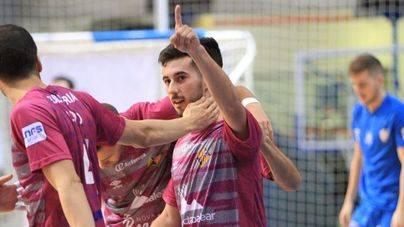 El Palma Futsal se da un festín de goles en Son Moix