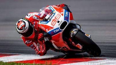Jorge Lorenzo es sexto en el GP de Japón de Moto GP