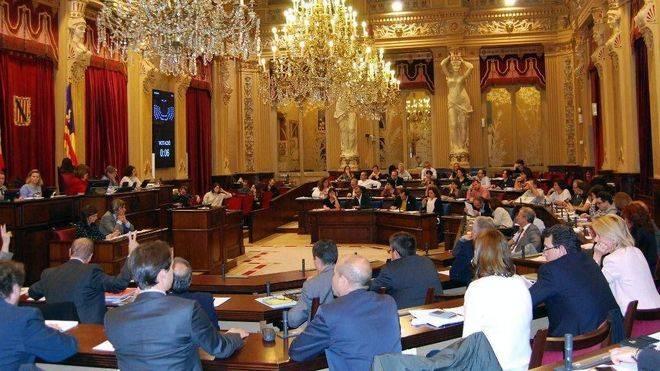 Imagen de archivo del Pleno del Parlament
