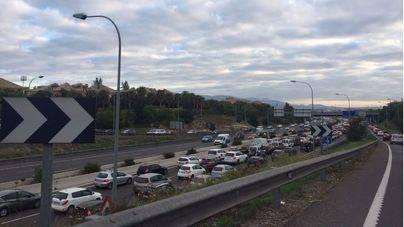 Colapso circulatorio en Palma por dos accidentes de tráfico