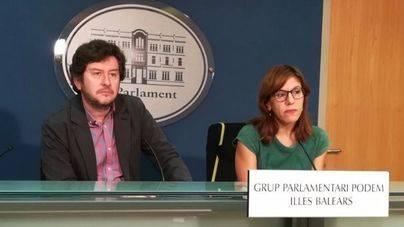"""Podem cree que no se ha declarado la independencia y valora """"el paso atrás"""" de Puigdemont"""